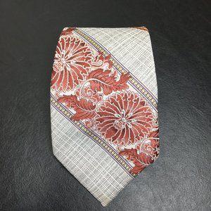 vintage wemlon wembley floral wide neck tie 70s